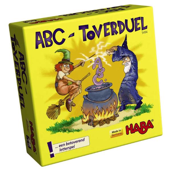 005494 Speelgoedwinkel Daantje haba speelgoed abc toverduel
