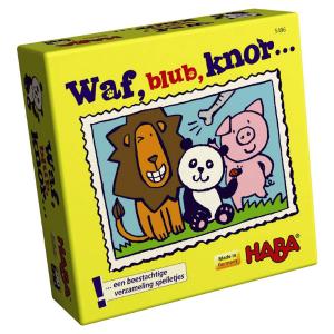 005496 Speelgoedwinkel Daantje haba speelgoed waf blub knor