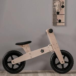1000052 Speelgoedwinkel Daantje Kids Concept loopfiets blank hout