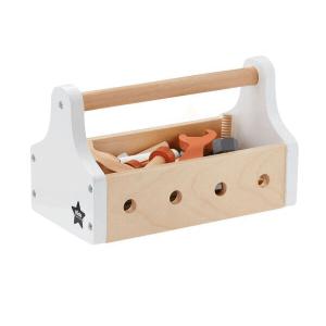 1000094 Speelgoedwinkel Daantje Kids Concept houten gereedschapskist