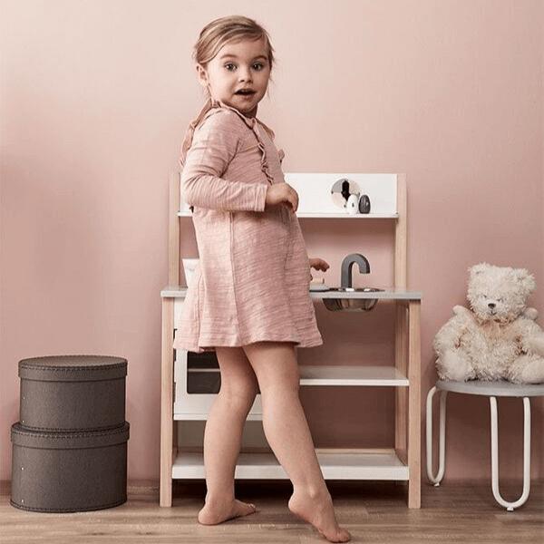 1000161 Speelgoedwinkel Daantje Kids Concept houten keukentje om restaurantje te spelen