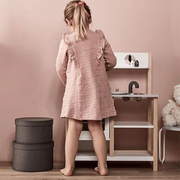 1000161 Speelgoedwinkel Daantje Kids Concept restaurantje spelen houten keukentje