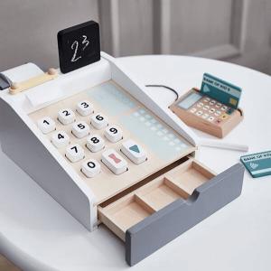 1000259 Speelgoedwinkel Daantje winkeltje spelen met houten kassa Kids Concept