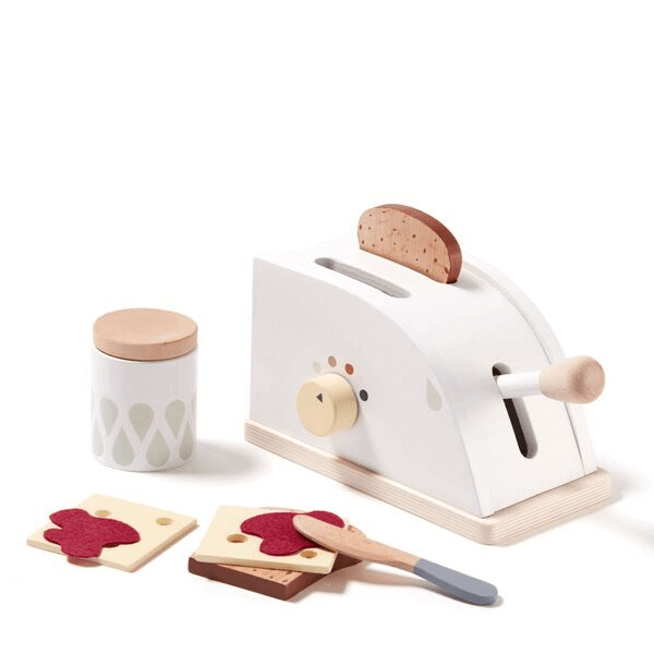 1000261 Speelgoedwinkel Daantje Kids Concept broodrooster van hout