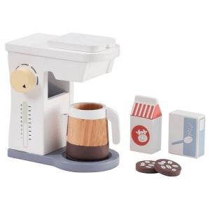 1000262 Speelgoedwinkel Daantje houten koffiezetapparaat van Kids Concept