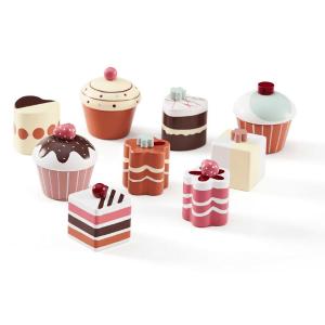 1000264 Speelgoedwinkel Daantje Kids Concept houten taartjes