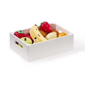 1000275 Speelgoedwinkel Daantje Kids Concept fruitkistje met houten fruit