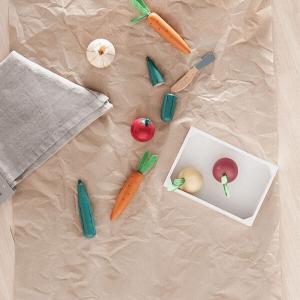 1000276 Speelgoedwinkel Daantje groentekistje Kids Concept
