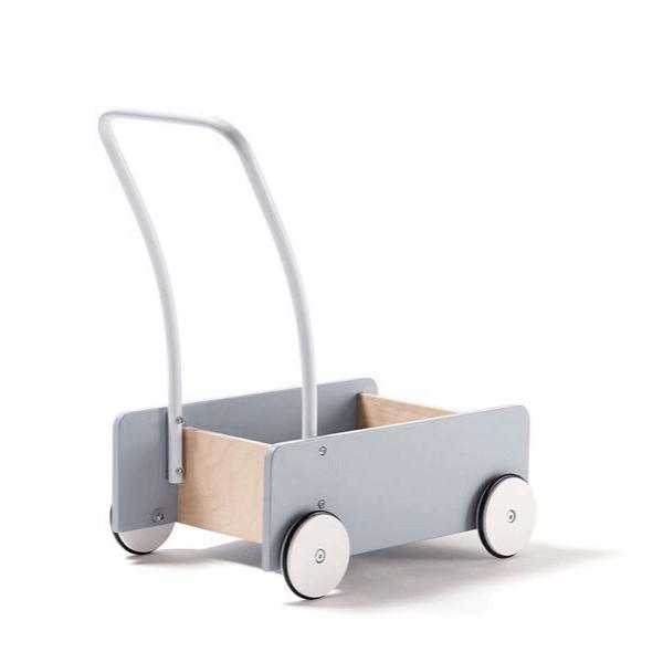 1000279 Speelgoedwinkel Daantje Kids Concept loopwagentje blauw achterkant