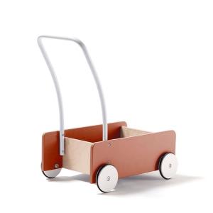 1000280 Speelgoedwinkel Daantje Kids Concept loopwagentje abrikoos achterkant