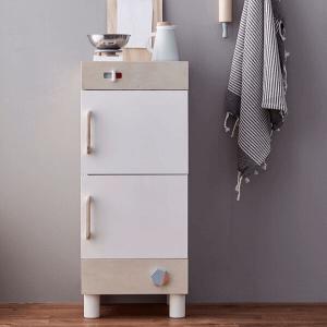 1000281 Speelgoedwinkel Daantje Kids Concept houten koelkast