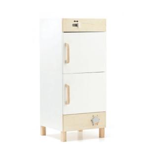 1000281 Speelgoedwinkel Daantje houten koelkast met vriesvak