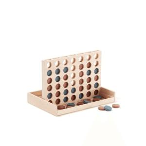 1000283 Speelgoedwinkel Daantje Kids Concept vier op een rij van hout