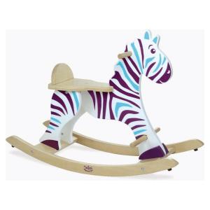 1026 Speelgoedwinkel Daantje houten schommelpaard zebra Vilac