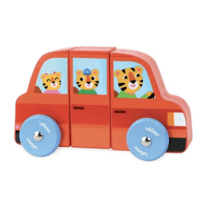 1512 Speelgoedwinkel Daantje Vilac magnetische auto rood