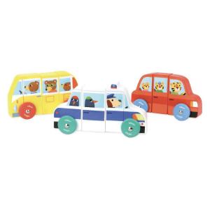 1512 Speelgoedwinkel Daantje Vilac magnetische autos