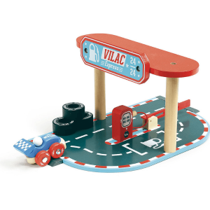 2355 Speelgoedwinkel Daantje Vilacity tankstation