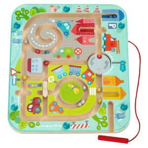 301056 Speelgoedwinkel Daantje haba speelgoed magneetspel stadslabyrint