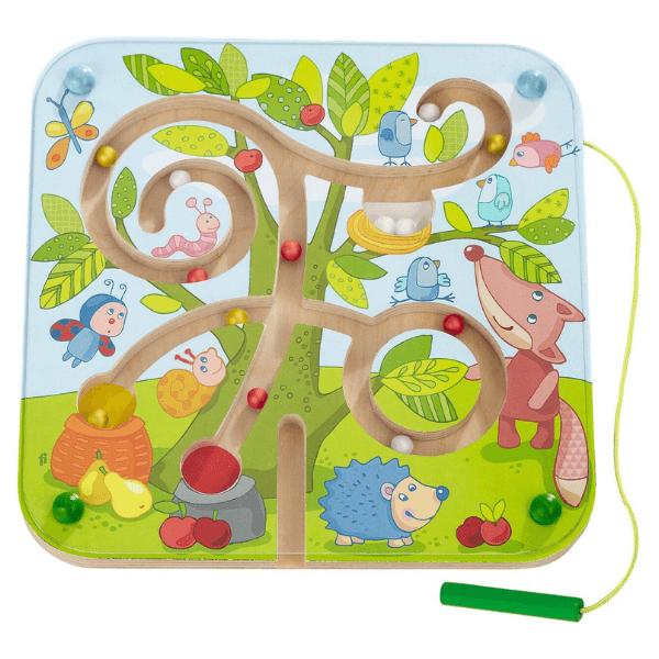 301057 Speelgoedwinkel Daantje haba speelgoed magneetspel boomlabyrint