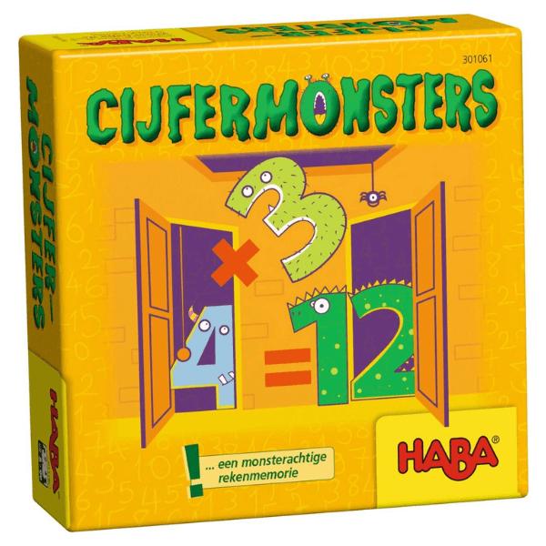 301061 Speelgoedwinkel Daantje haba speelgoed cijfermonsters