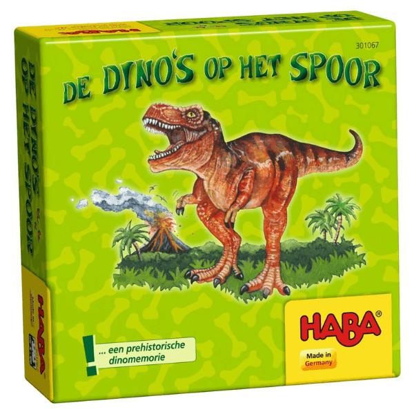 301067 Speelgoedwinkel Daantje haba speelgoed dinos op het spoor