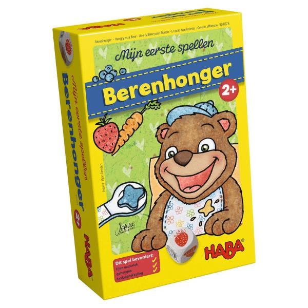 301075 Speelgoedwinkel Daantje berenhonger haba speelgoed
