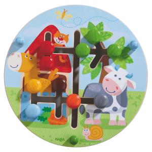 301696 Speelgoedwinkel Daantje haba speelgoed motoriekbord boerderij