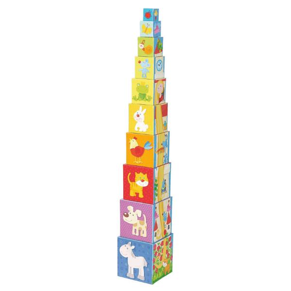 302030 Speelgoedwinkel Daantje haba speelgoed stapelblokken rapunzel