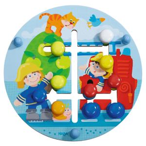 302210 Speelgoedwinkel Daantje haba speelgoed motoriekbord brandweer