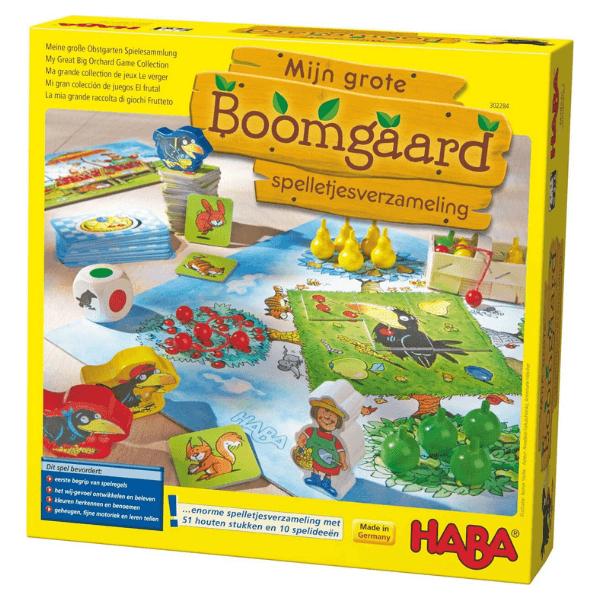 302284 Speelgoedwinkel Daantje haba speelgoed boomgaard verzameling