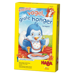 302370 Speelgoedwinkel Daantje haba speelgoed kleine vogel grote honger