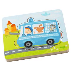 302534 Speelgoedwinkel Daantje haba speelgoed houten puzzel in actie