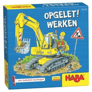 302749 Speelgoedwinkel Daantje haba speelgoed opgelet werken