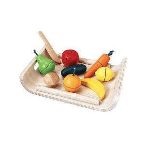 3416 Speelgoedwinkel Daantje Plan Toys gemengd fruit en groente