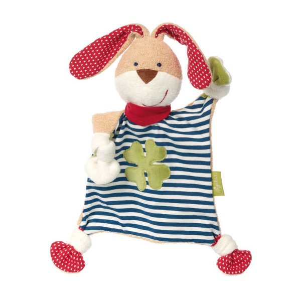 40504 Speelgoedwinkel Daantje Sigikid knuffeldoek konijn