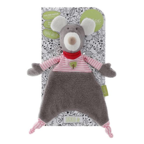 41781 Speelgoedwinkel Daantje Sigikid knuffeldoek muis