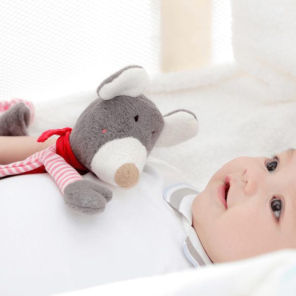 41781 Speelgoedwinkel Daantje Sigikid knuffeldoek muis bruin baby
