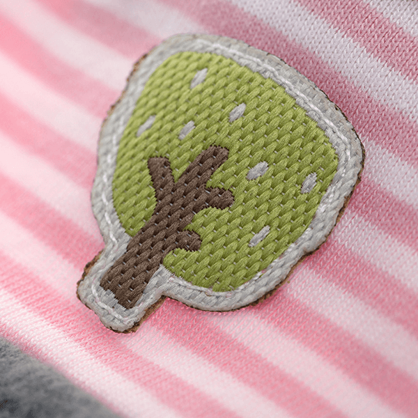 41781 Speelgoedwinkel Daantje Sigikid knuffeldoek muis bruin detail