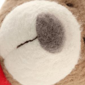 41785 Speelgoedwinkel Daantje Sigikid knuffel beer blauw detail neus
