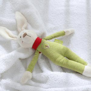 41793 Speelgoedwinkel Daantje Sigikid knuffel haas op bed