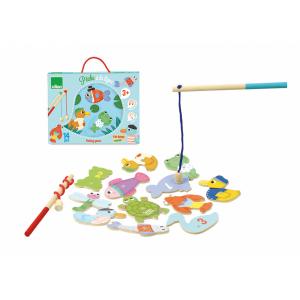 4355 Speelgoedwinkel Daantje Vilac magneetspel vijver vissen