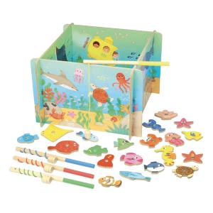 4356 Speelgoedwinkel Daantje Vilac magnetisch visspel oceaan compleet