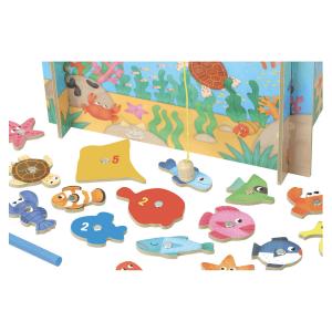 4356 Speelgoedwinkel Daantje Vilac magnetisch visspel oceaan detail
