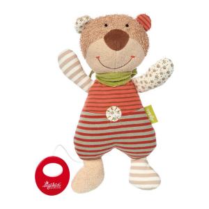 48916 Speelgoedwinkel Daantje Sigikid knuffelbeer met muziekdoosje