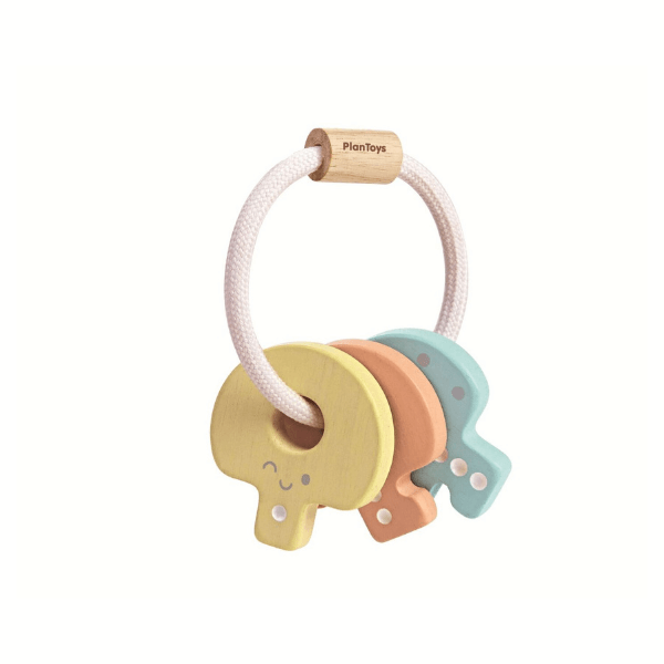 5251 Speelgoedwinkel Daantje Plan Toys houten sleutels