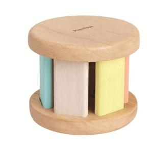 5255 Speelgoedwinkel Daantje Plan Toys houten roller baby speelgoed zijkant