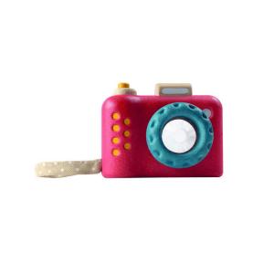 5633 Speelgoedwinkel Daantje Plan Toys houten eerste camera