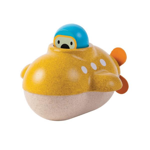 5669 Speelgoedwinkel Daantje Plan Toys badspeelgoed houten duikboot
