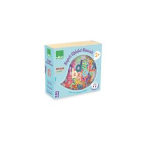6703 Speelgoedwinkel Daantje Vilac houten magneten alfabet