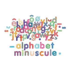 6703 Speelgoedwinkel Daantje alfabet magneten letters Vilac